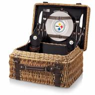 Pittsburgh Steelers Black Champion Picnic Basket