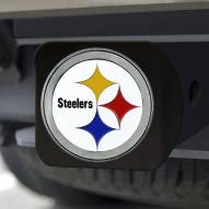 Pittsburgh Steelers Black Color Hitch Cover