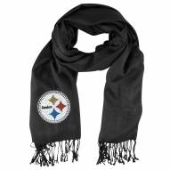 Pittsburgh Steelers Black Pashi Fan Scarf