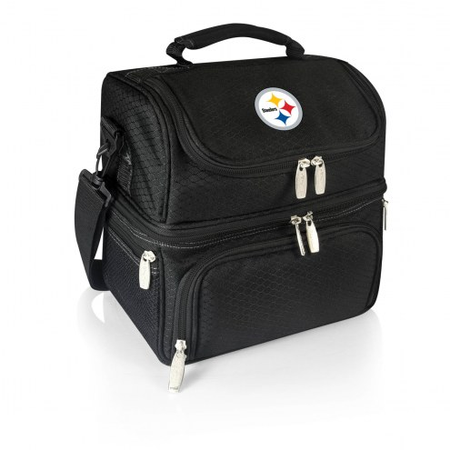 Pittsburgh Steelers Black Pranzo Insulated Lunch Box