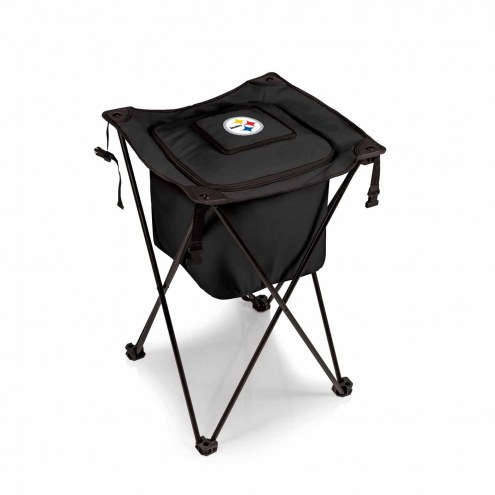 Pittsburgh Steelers Black Sidekick Portable Cooler
