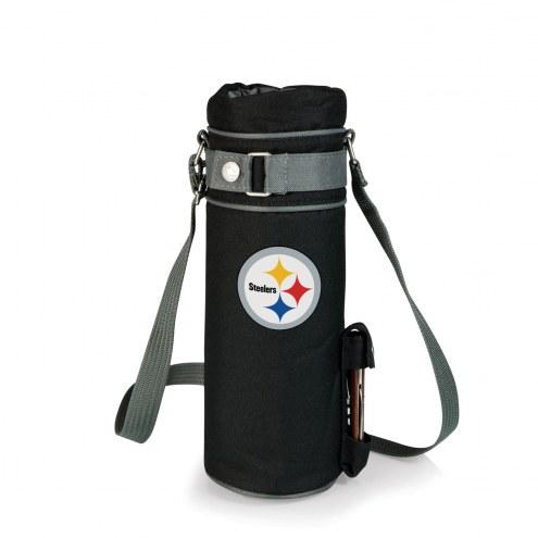 Pittsburgh Steelers Black Wine Sack