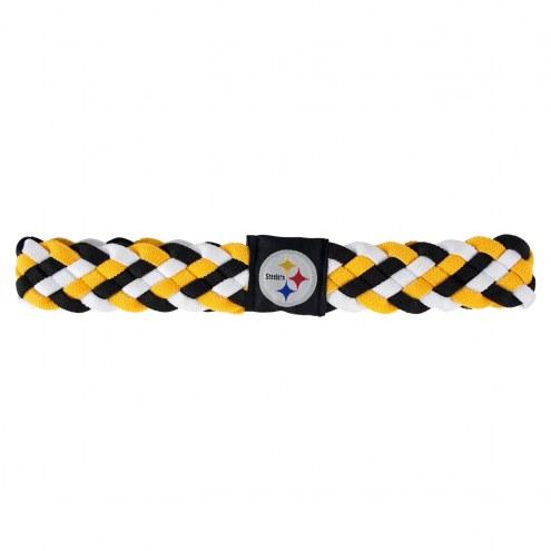 Pittsburgh Steelers Braided Head Band