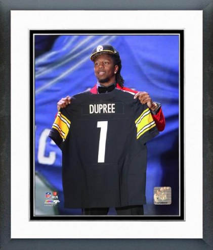 Pittsburgh Steelers Bud Dupree NFL Draft #22 Pick Framed Photo