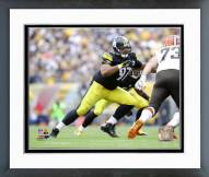 Pittsburgh Steelers Cameron Heyward Action Framed Photo