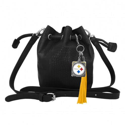 Pittsburgh Steelers Charming Mini Bucket Bag