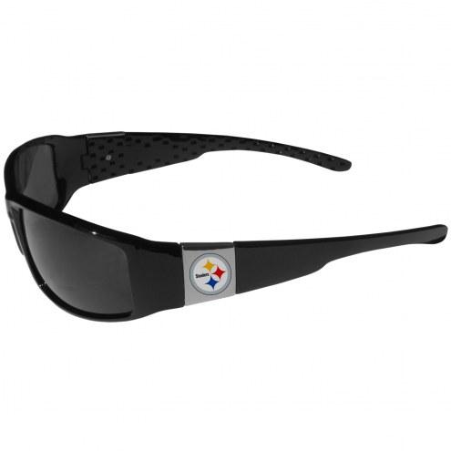 Pittsburgh Steelers Chrome Wrap Sunglasses