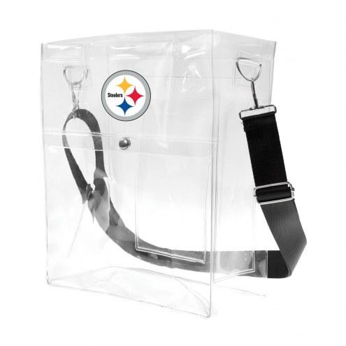 Pittsburgh Steelers Clear Ticket Satchel