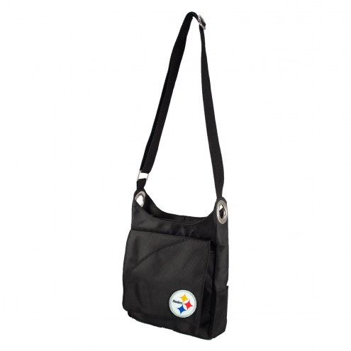 Pittsburgh Steelers Color Sheen Cross-body Bag