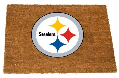 Pittsburgh Steelers Colored Logo Door Mat