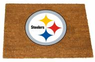 Pittsburgh Steelers Colored Logo Door Mat