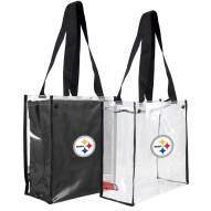 Pittsburgh Steelers Convertible Clear Tote