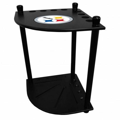 Pittsburgh Steelers Corner Pool Cue Rack