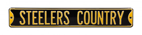 Pittsburgh Steelers Country Street Sign