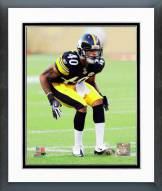 Pittsburgh Steelers Curtis Brown Action Framed Photo