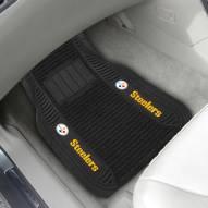 Pittsburgh Steelers Deluxe Car Floor Mat Set