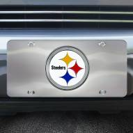 Pittsburgh Steelers Diecast License Plate