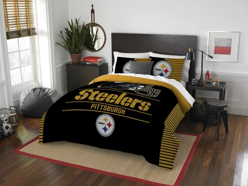 Pittsburgh Steelers Draft Full/Queen Comforter Set