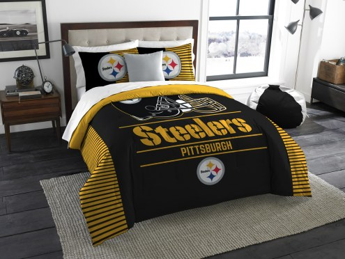 Pittsburgh Steelers Draft King Comforter Set