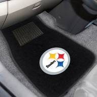 Pittsburgh Steelers Embroidered Car Mats