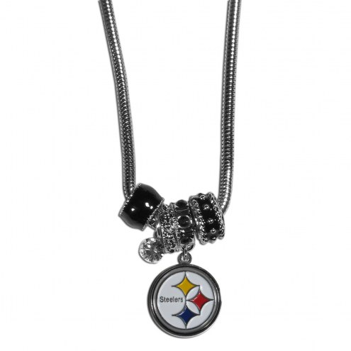 Pittsburgh Steelers Euro Bead Necklace