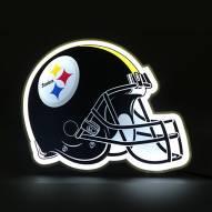Pittsburgh Steelers Football Helmet LED Lamp