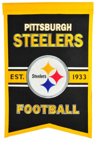 Pittsburgh Steelers Franchise Banner
