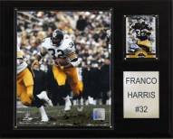"Pittsburgh Steelers Franco Harris 12 x 15"" Player Plaque"