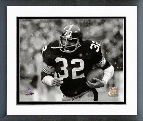 Pittsburgh Steelers Franco Harris 1978 Action Framed Photo
