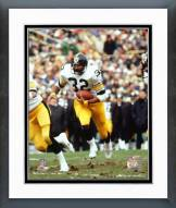 Pittsburgh Steelers Franco Harris Running With Ball Framed Photo