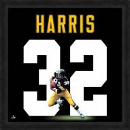Pittsburgh Steelers Franco Harris Uniframe Framed Jersey Photo