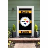 Pittsburgh Steelers Front Door Cover
