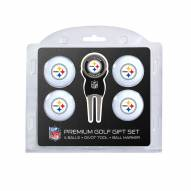 Pittsburgh Steelers Golf Ball Gift Set