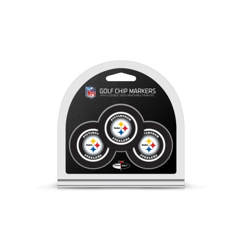 Pittsburgh Steelers Golf Chip Ball Markers