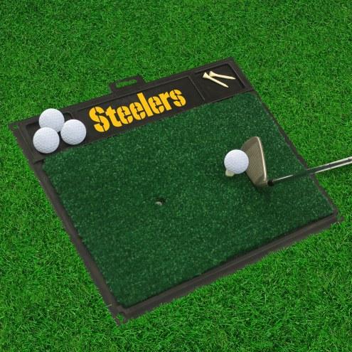 Pittsburgh Steelers Golf Hitting Mat
