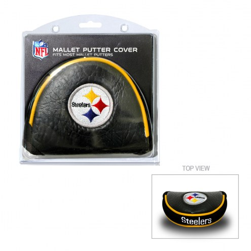 Pittsburgh Steelers Golf Mallet Putter Cover