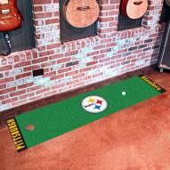 Pittsburgh Steelers Golf Putting Green Mat