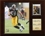 "Pittsburgh Steelers Heath Miller 12 x 15"" Player Plaque"