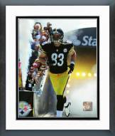 Pittsburgh Steelers Heath Miller Action Framed Photo
