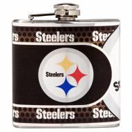 Pittsburgh Steelers Hi-Def Stainless Steel Flask