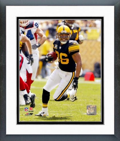 Pittsburgh Steelers Hines Ward 2007 Action Framed Photo