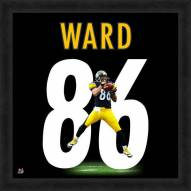 Pittsburgh Steelers Hines Ward Uniframe Framed Jersey Photo