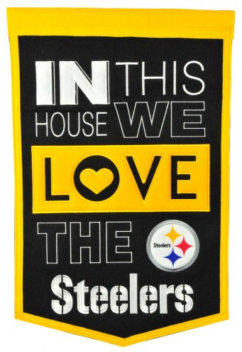 Pittsburgh Steelers Home Banner