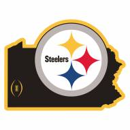 "Pittsburgh Steelers Home State 11"""" Magnet"