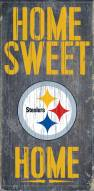 Pittsburgh Steelers Home Sweet Home Wood Sign