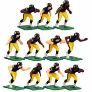 Pittsburgh Steelers Home Uniform Action Figure Set