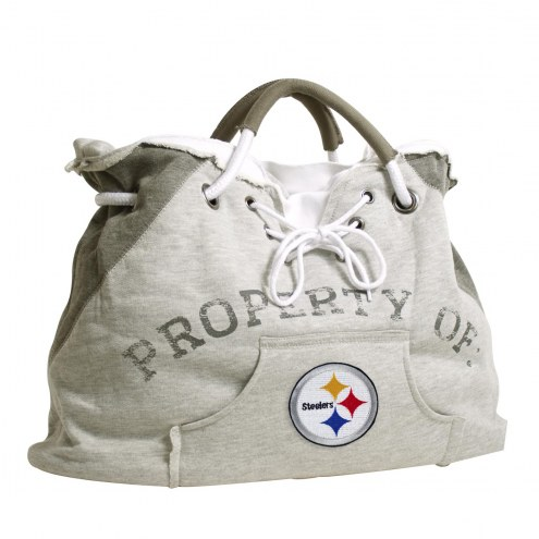 Pittsburgh Steelers Hoodie Tote Bag