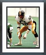Pittsburgh Steelers Jack Lambert Action Framed Photo