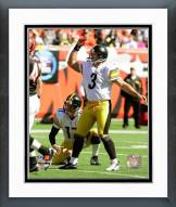 Pittsburgh Steelers Jeff Reed & Mitch Berger 2008 Action Framed Photo