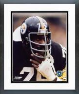 Pittsburgh Steelers Joe Greene Close up on sidelines Framed Photo